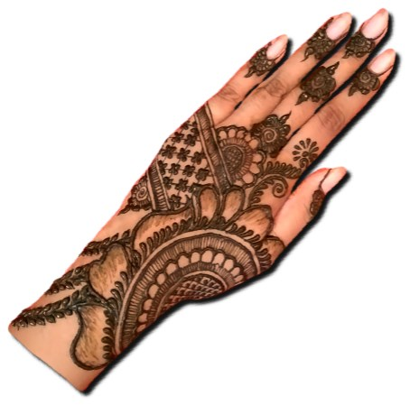 Arabic Back Hand Stylish Design