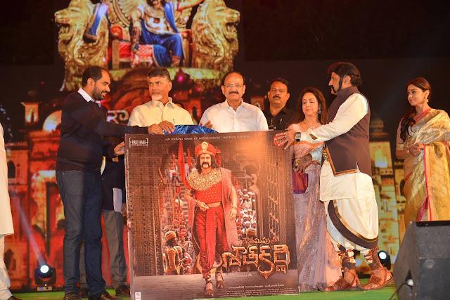NBK's Gautamiputra Satakarni Movie Music Launch Photos