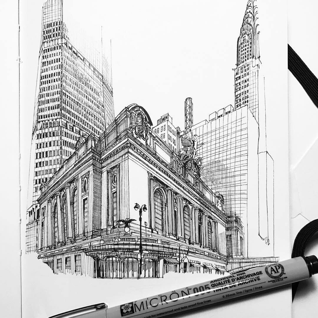 06-Grand-Central-Terminal-MISTER-VI-Architectural-Drawings-From-Around-the-World-www-designstack-co