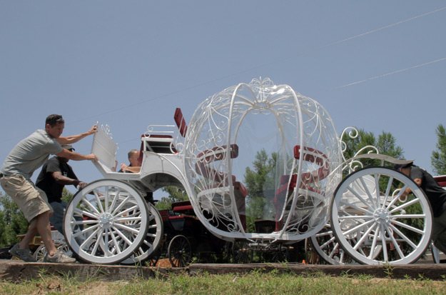 SurLaLune Fairy Tales Blog: Cinderella Carriage on Shipping Wars