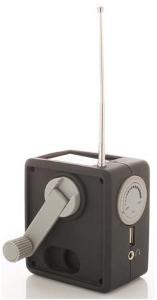 Geek Salade: Une radio sans pile pour la salle de bain