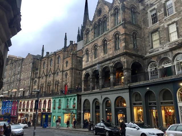 Victoria Street, Edinburgh, Scotland