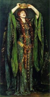 Ellen Terry en Lady Macbeth de John Singer Sargent, (1889)