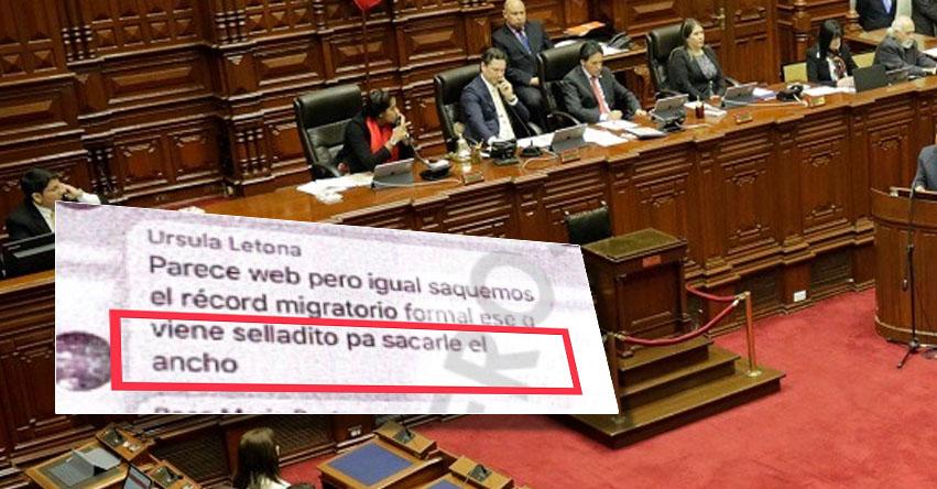 CONGRESO PARALIZADO: Parlamentarios concentrados en temas particulares de su bancada, según revelador chat de Telegram