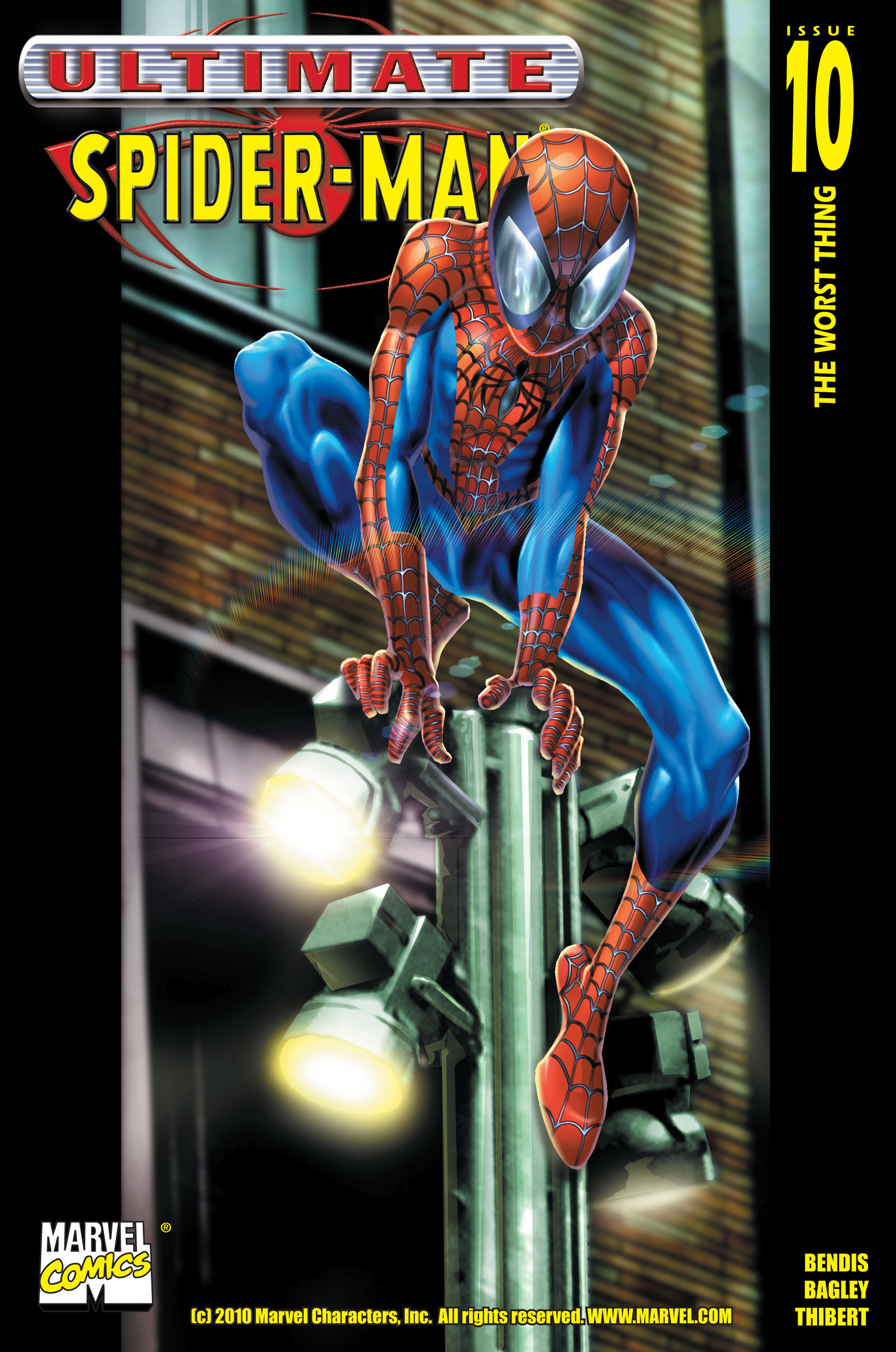 Read online Ultimate Spider-Man (2000) comic -  Issue #10 - 1