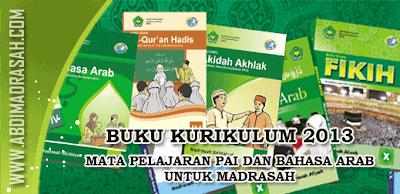 Buku Kurikulum 2013 PAI Dan Bahasa Arab Untuk Madrasah Ibtidaiyah