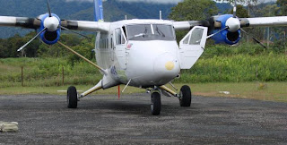 The Papua Legislative Council Buy 10 Twin Otter Airplanes