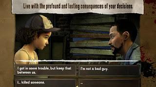 Game yang sangat mengagumkan dan menguras emosi Unduh Game Android Gratis The Walking Dead Season 1 (English and Unlock All Episode) apk + obb