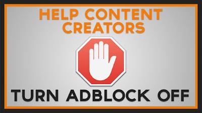 Desactiva Adblock - ayuda a los creadores