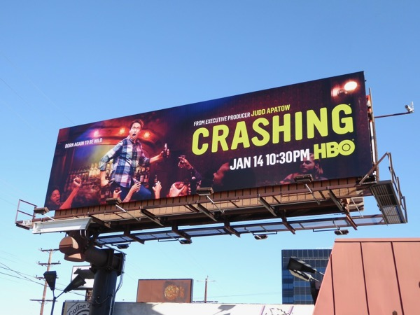 Crashing season 2 billboard