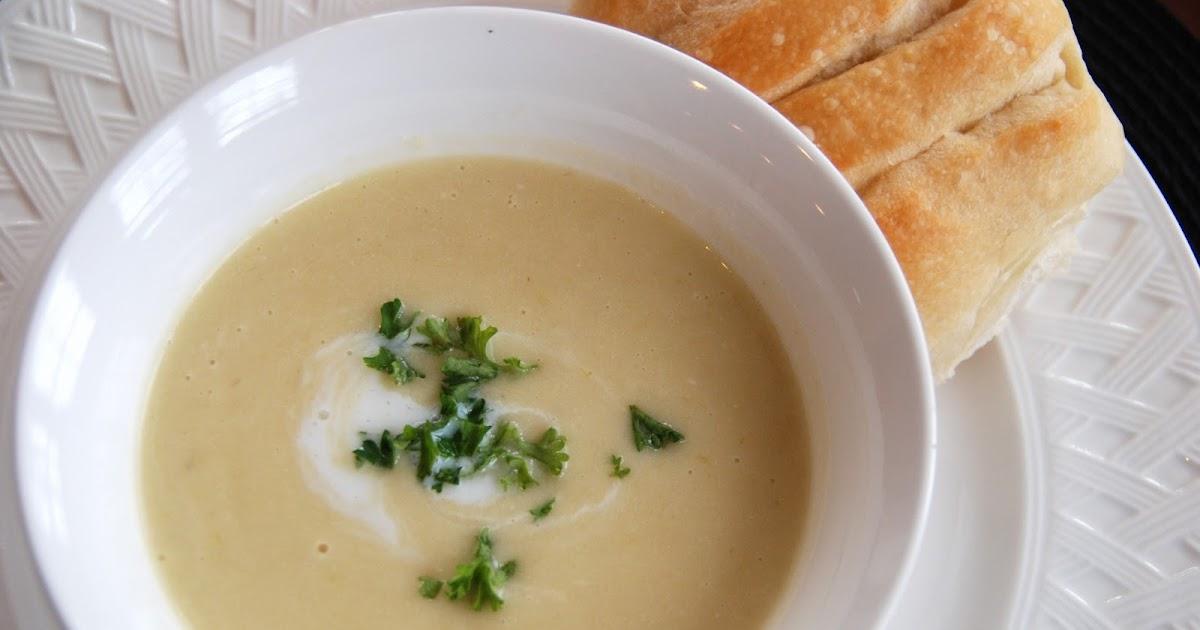 Creamy Potato Leek Soup Food Network