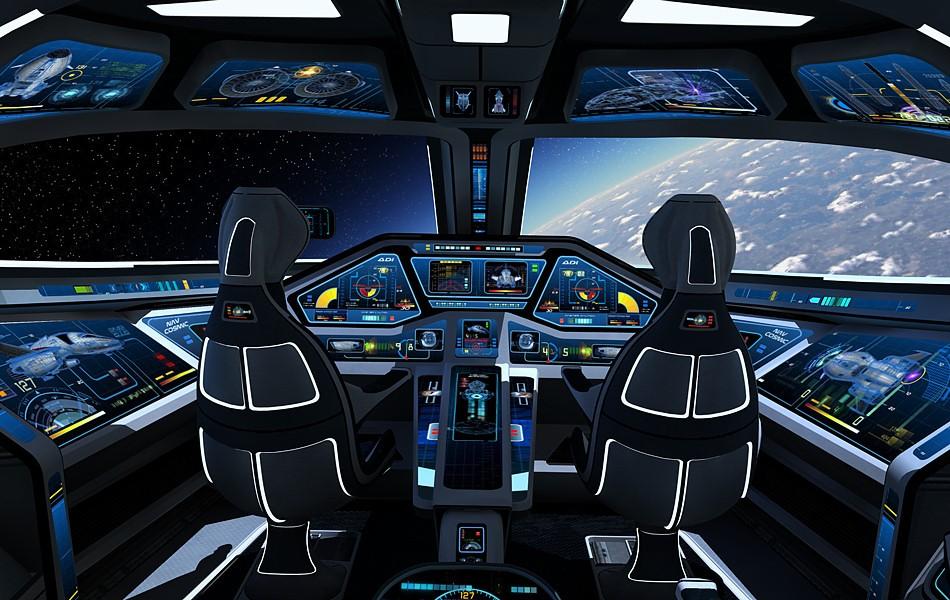 future spacecraft interior - photo #43