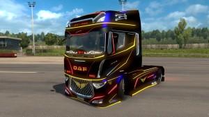 DAF Evo truck mod 2.0
