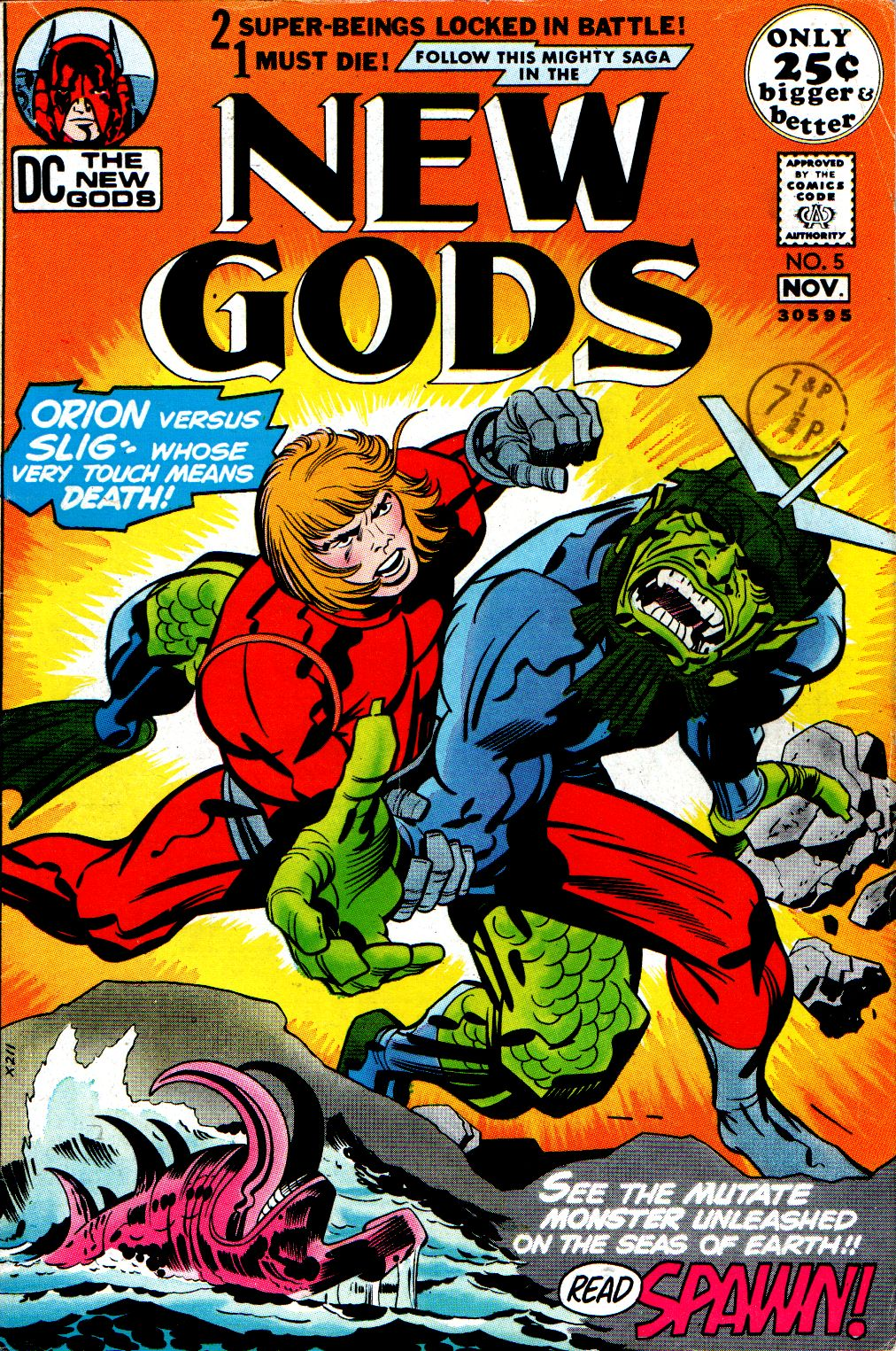 The New Gods (1971) issue 5 - Page 1