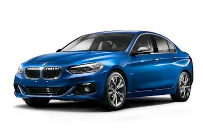 BMW 1 Series Sedan (2017) Front Side