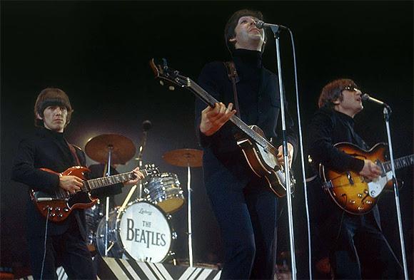 Le dernier concert des Beatles en tournée au Royaume-Uni
