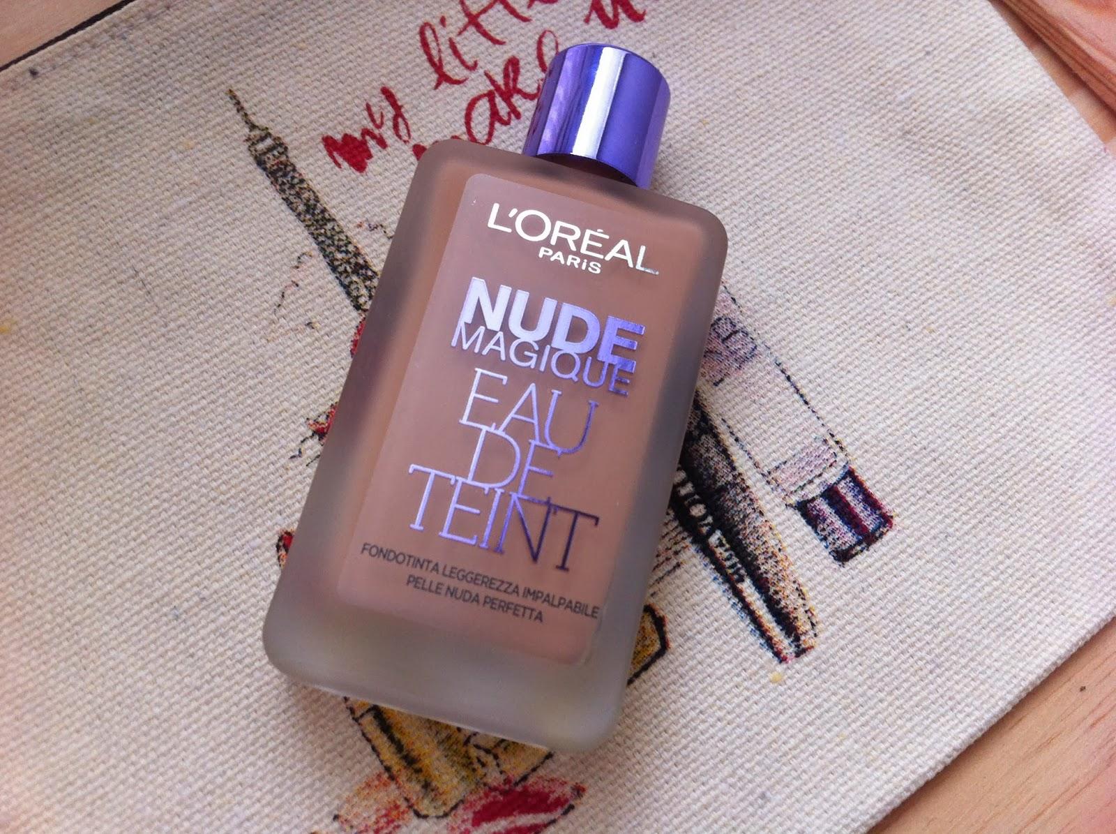 elisa vs make-up: LOreal: Nude Magique Eau de Teint