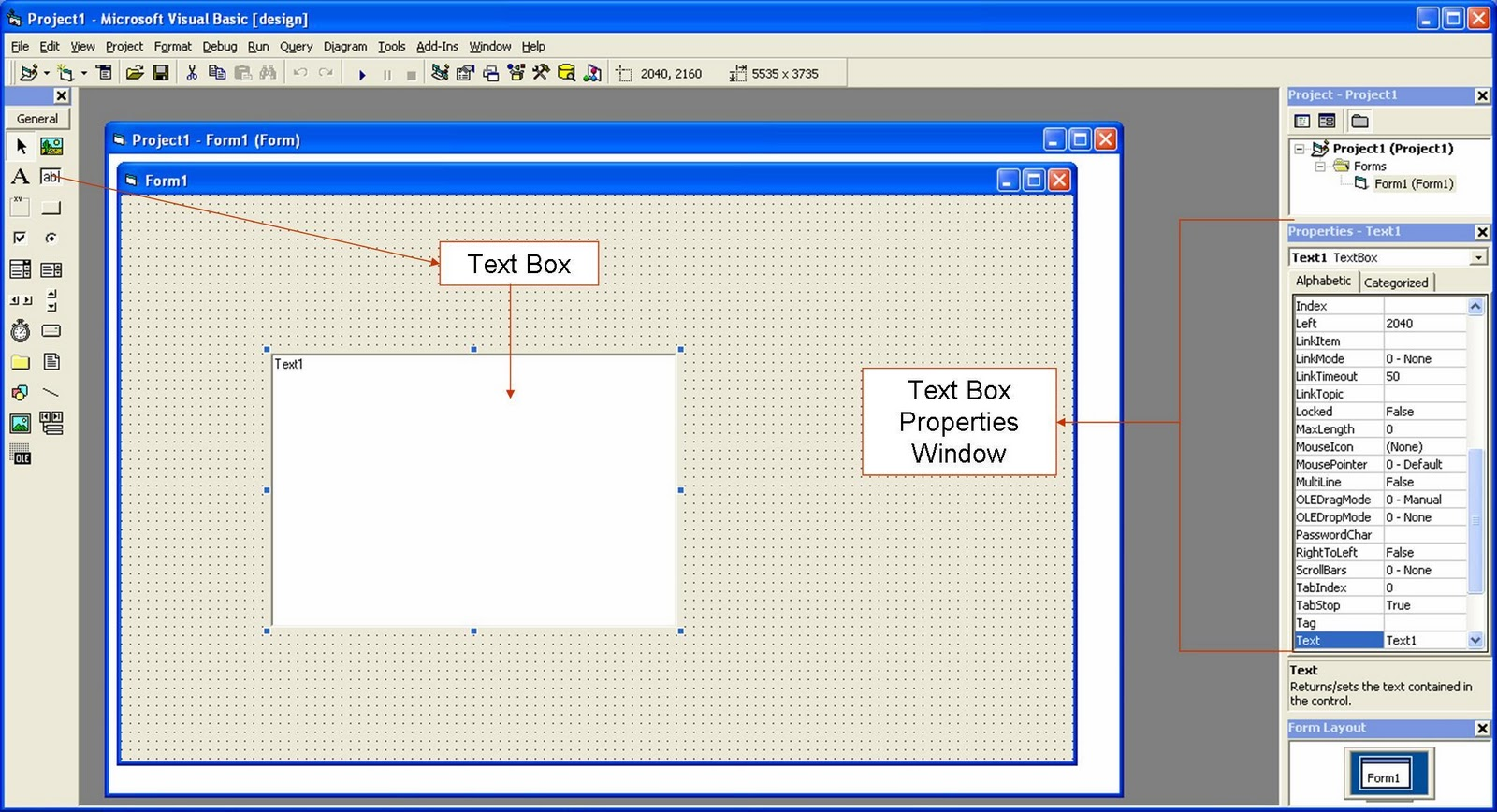 Textbox And Label In Vb