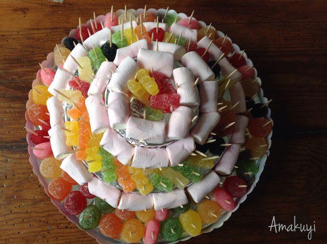 tarta de chuches para intolerantes
