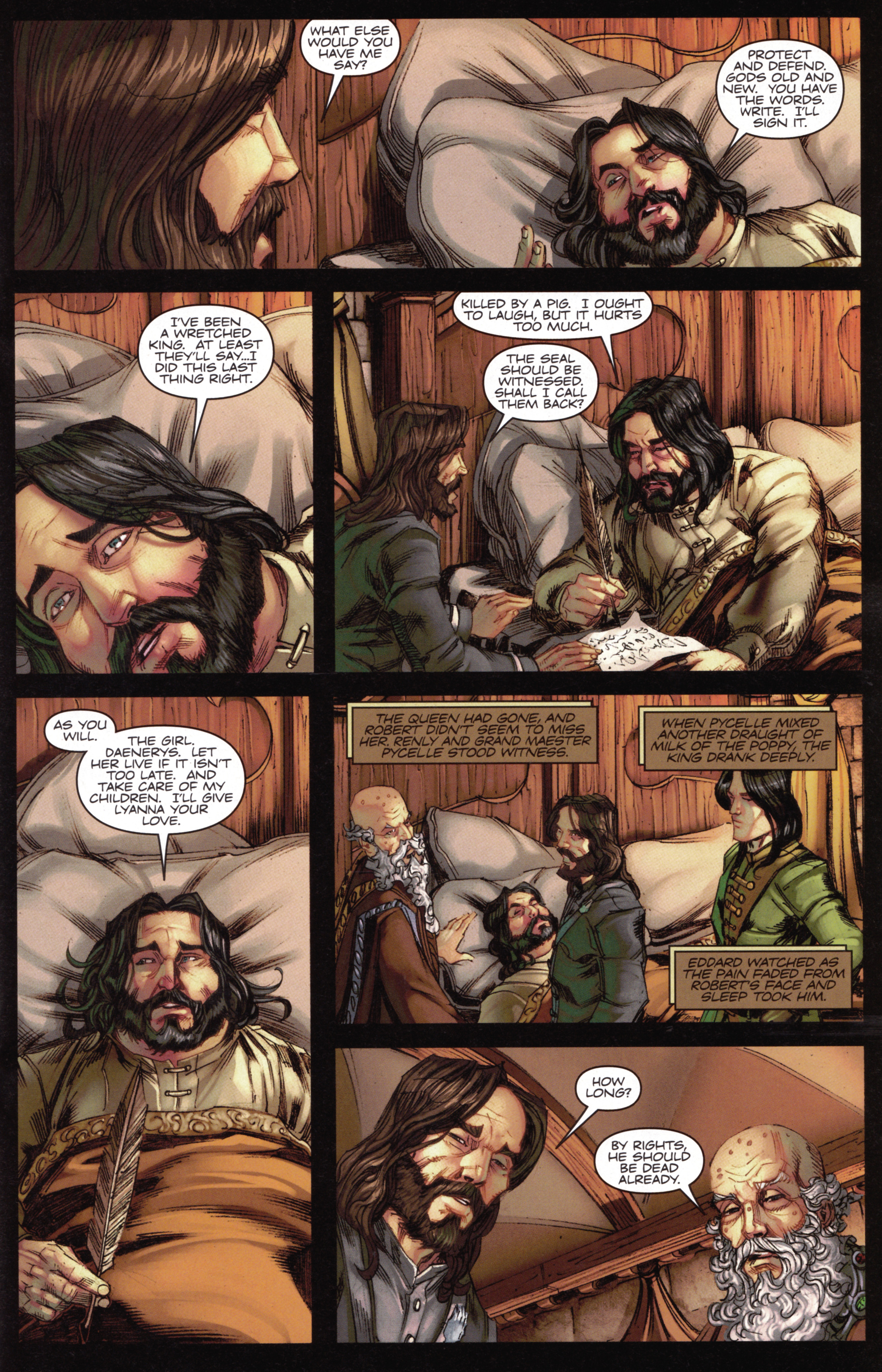 Read online A Game Of Thrones comic -  Issue #15 - 15