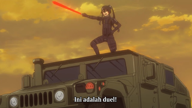 Sword Art Online Alternative - Gun Gale Online Episode 11 Subtitle Indonesia