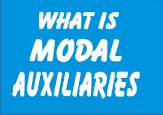 fungsi kata kerja bantu modal