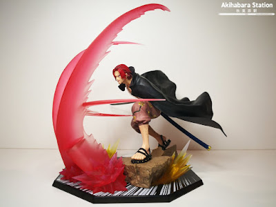 "Figuras: Review del Figuarts Zero One Piece ""Shanks Sovereign Haki Super Fierce Battle - EXTRA BATTLE - Tamashii Nations"