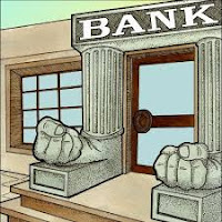 Banka kapısı ve tabelası