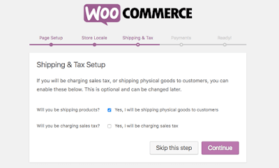 shipping tax setup woocommerce