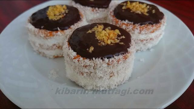 Bisküvili mini pasta tarifi ( burçak bisküvili imam sarığı pastası)