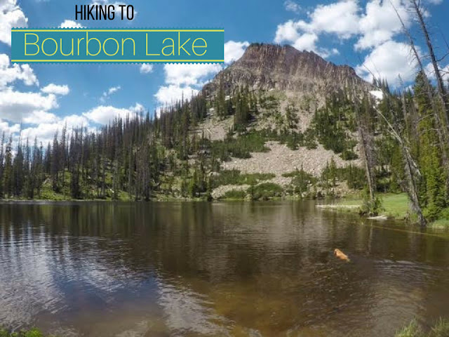 Hiking to Bourbon Lake via the Whiskey Trail, Uintas