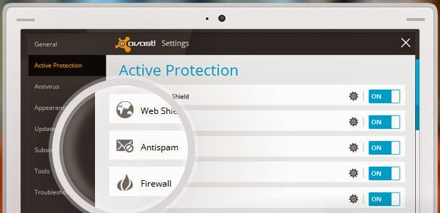 Active Protection de AVAST!