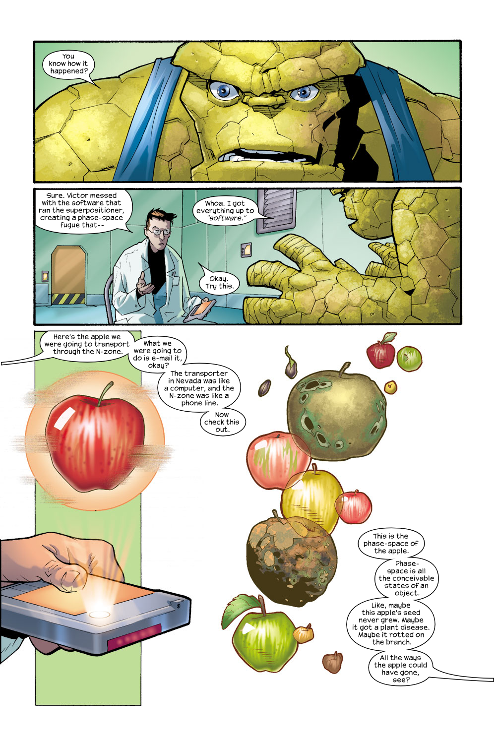 Read online Ultimate Fantastic Four (2004) comic -  Issue #8 - 10