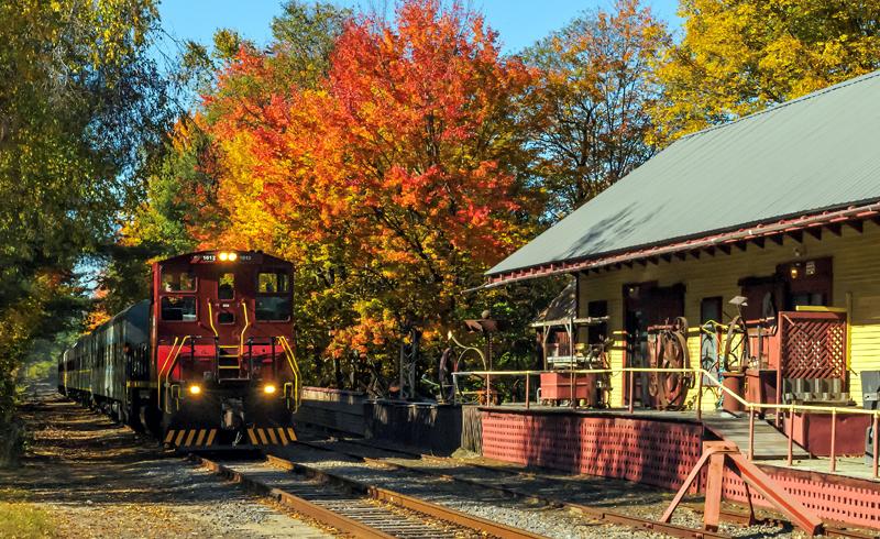 An Autumn Tour in New England