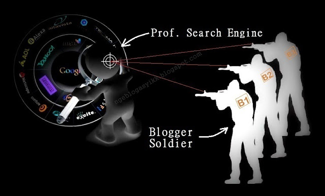 Search Engine Hidup life dan Mati dead Ditangan Blogger