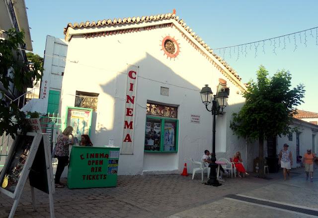 Mamma Mia Open Air Cinema in Skiathos
