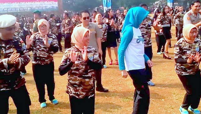 FKPPI Biak Numfor Pentas Bersama Sambut Kemerdekaan RI