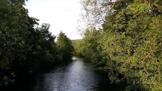 Fotografia do rio, em Obermaubach