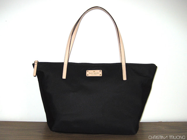 What's In My Bag Kate Spade Sophie Kennedy Park Black