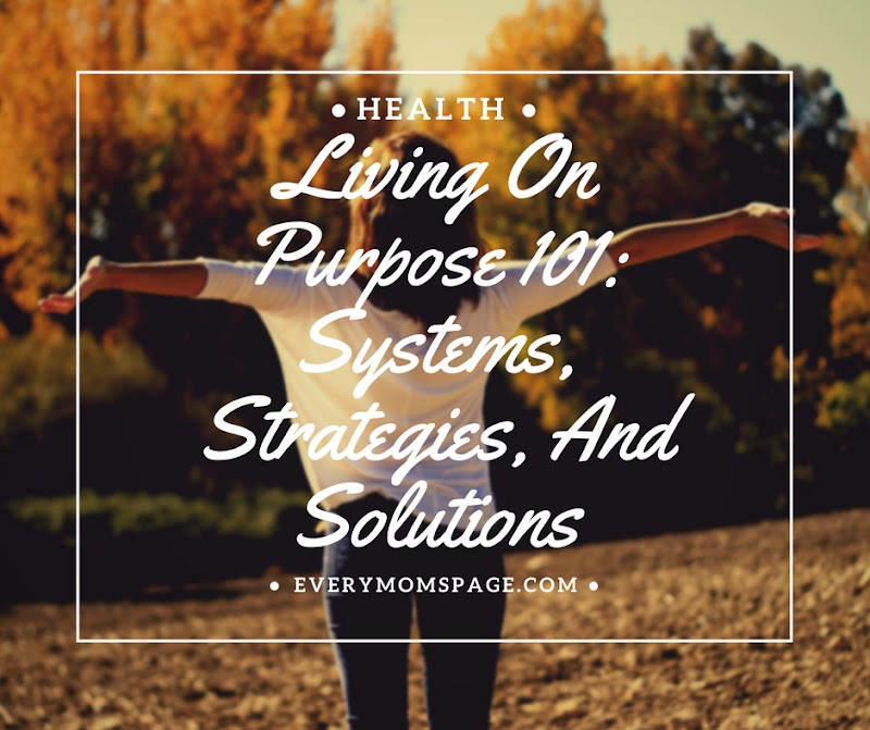 Living On Purpose 101: Systems, Strategies, And Solutions