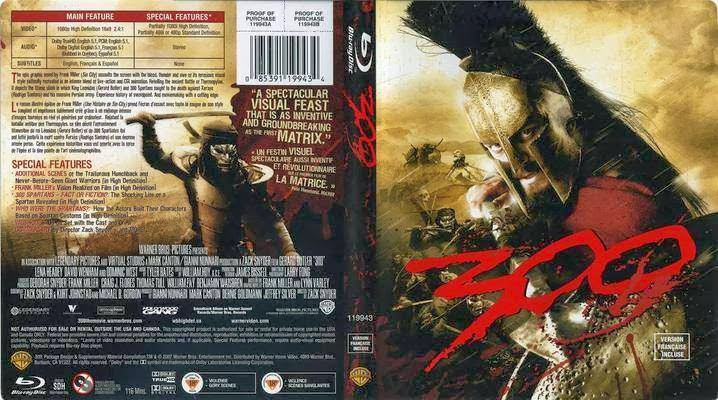 Download Three Hundred – 300 (2006) BluRay 720p