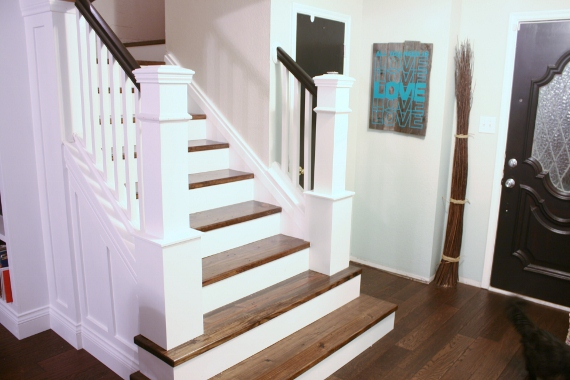 Remodelaholic | How We Built Our Custom Newel Posts; Tutorial