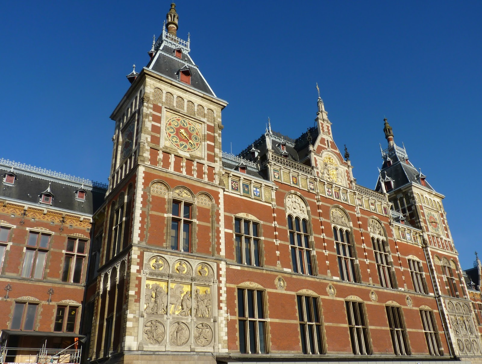 Centraal Station d'Amsterdam