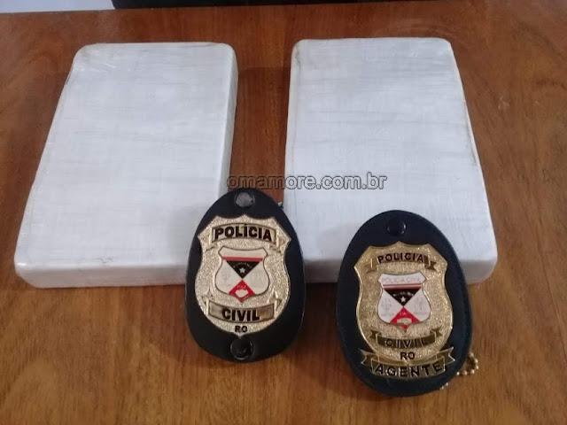 Sevic prende jovem transportando droga em via pública