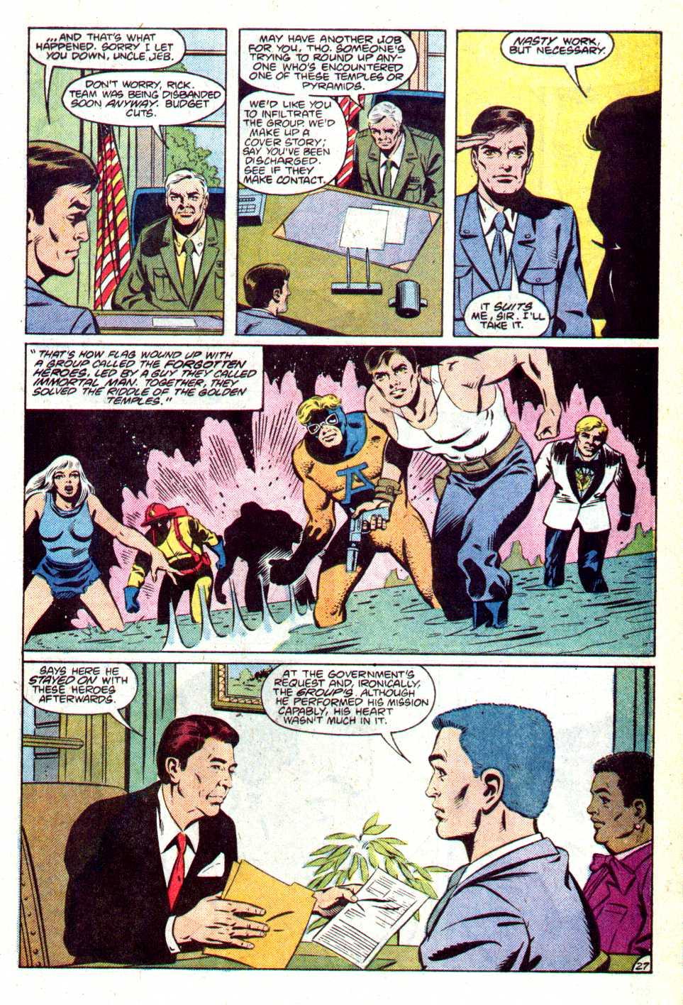 Read online Secret Origins (1986) comic -  Issue #14 - 30
