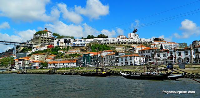 Vila Nova de Gaia, Portugal, vista do Cais da Ribeira, Cidade do Porto