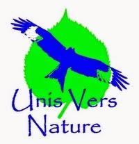 UnisVersNature logo, stage survie, stage cuisine, plantes sauvages
