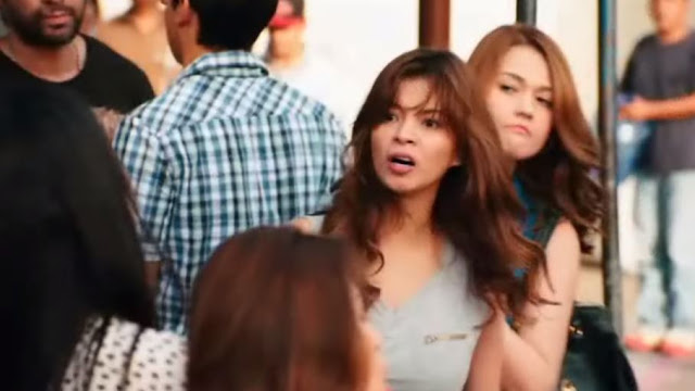 """The Unforgettable Fight Scene Betwen Angel Locsin And Mocha Uson In """"Four Sisters and a Wedding"""""""