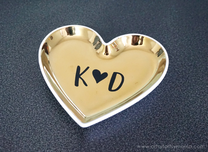 DIY Ring Dish - Custom Newlywed Gift Tote