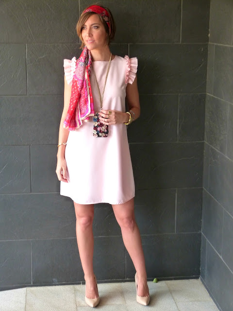 Fitness And Chicness-Light Pink Dress Vestido y Tacon-3